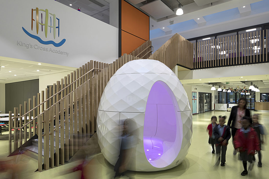 Seedpod at King's Cross Academy, London.