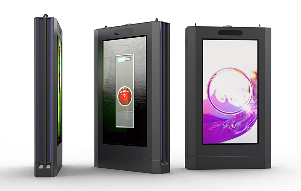 Industrial Design - Street Screen - Amscreen DS75