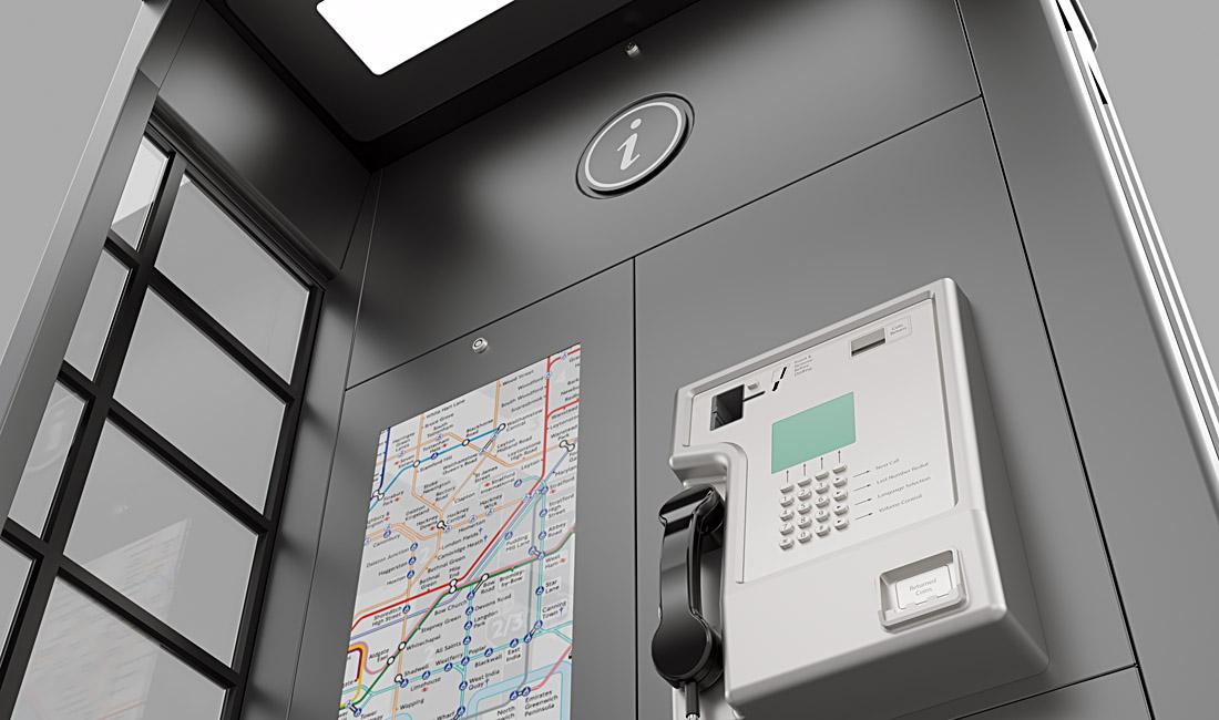 Amscreen NGT - Telephone Kiosk Design