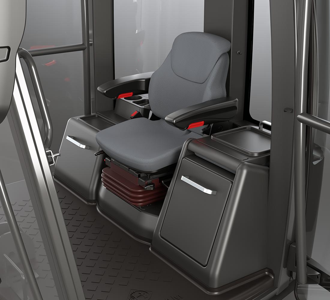 ABT Househam Cab - Operator Cab Design - Interior CAD Visual